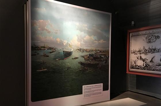 Ploggen 11 Maart 2016: Bezoek Futureland en Rondvaart Maasvlakte 2 schilderij vroeger