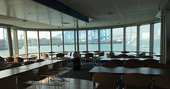 Ploggen 11 Maart 2016: Bezoek Futureland en Rondvaart Maasvlakte 2 binnen rondvaartboot