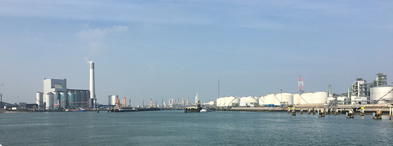 Ploggen 11 Maart 2016: Bezoek Futureland en Rondvaart Maasvlakte 2 petrochemie