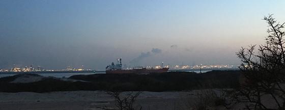 Ploggen 11 Maart 2016: Bezoek Futureland en Rondvaart Maasvlakte 2 boot