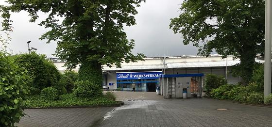 Hoog Vaals Chocoladehemel ingang Lindt werkverkauf aken