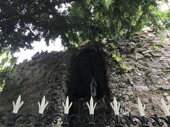 Hoog Vaals Heilige muur
