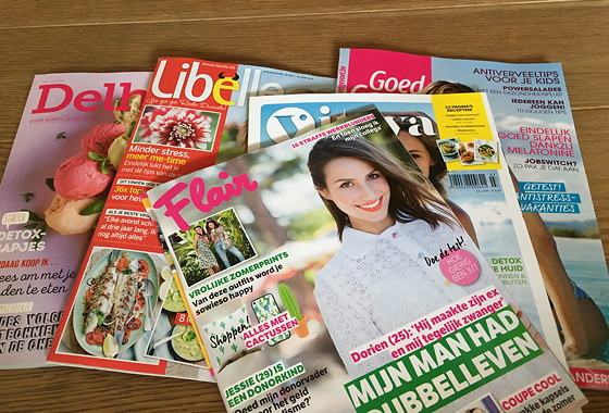 Shoppen in België en Bezoek Alden Biesen Vlaamse tijdschriften