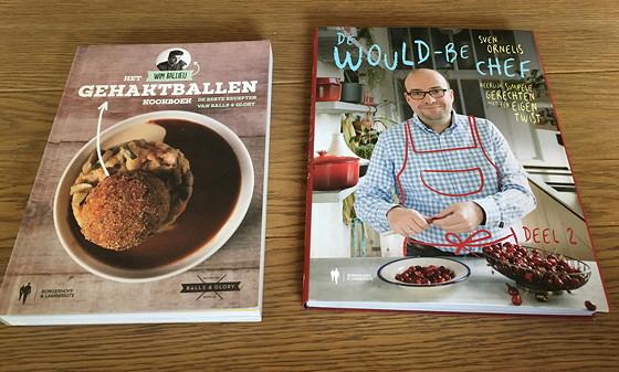 Shoppen in België en Bezoek Alden Biesen het gehaktballen kookboek en world-be-chef 2