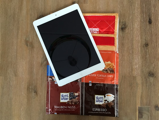 ritter sport iPadhoes