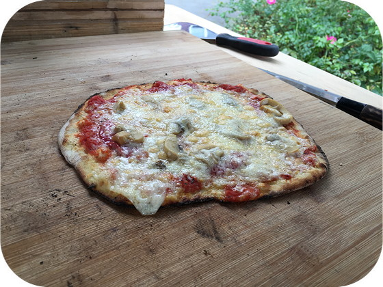 Straat-Pizza met Pizza on Wheels