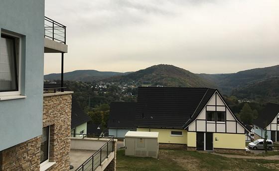 Ploggen 14 Oktober 2016: Op Vakantie naar de Eifel uitzicht