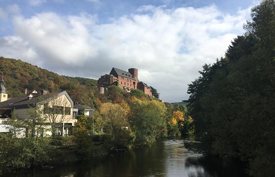 Ploggen 15 Oktober 2016: naar Heimbach Burcht
