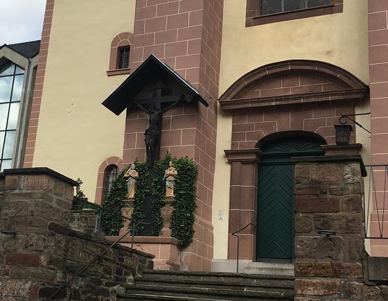 Ploggen 15 Oktober 2016: naar Heimbach gekruisigde Jezus
