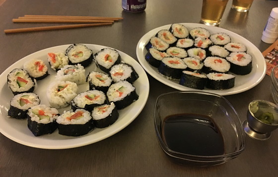 Ploggen 15 Oktober 2016: naar Heimbach sushi