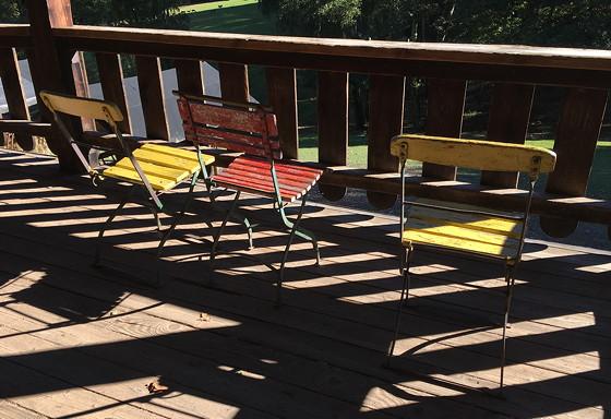 Ploggen 16 Oktober 2016: naar Hochwildpark Rheinland stoeltjes