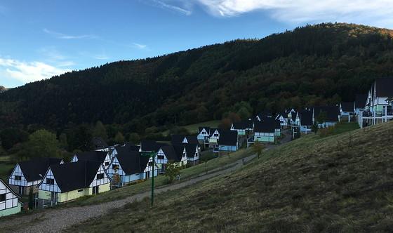 Ploggen 16 Oktober 2016: naar Hochwildpark Rheinland hoogte verschil