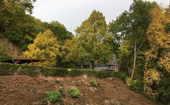 Ploggen 17 Oktober 2016: Wandelen bij de Rursee huisje