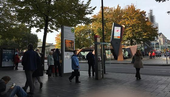 Ploggen 18 Oktober 2016: Shoppen in Aken elisenbrunnen halte