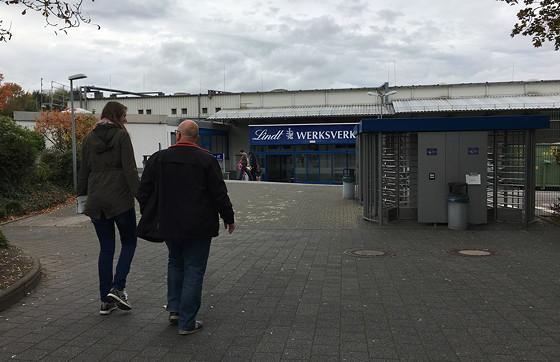 Ploggen 18 Oktober 2016: Shoppen in Aken Lindt werksverkauf