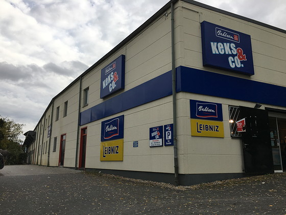 Ploggen 18 Oktober 2016: Shoppen in Aken Bahlsen werksverkauf
