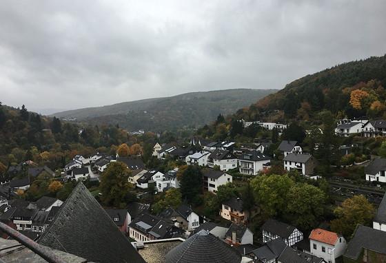 Ploggen 20 Oktober 2016: naar de Abdij en Burcht in Heimbach