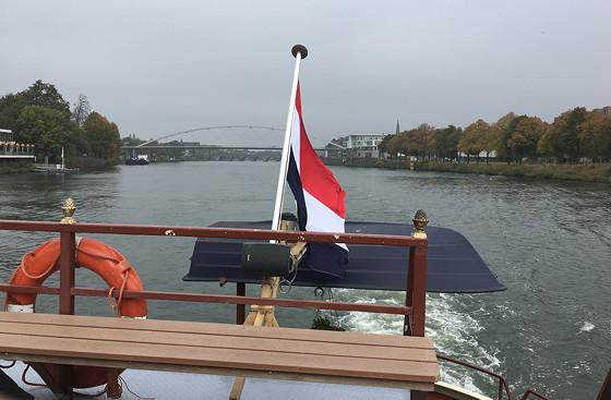 Ploggen 27 Oktober 2016: Dagje Maastricht achter steven