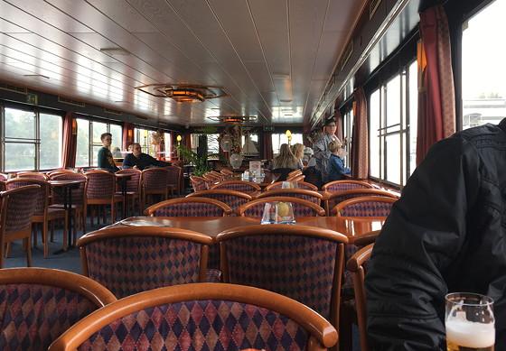Ploggen 27 Oktober 2016: Dagje Maastricht Rondvaartboot binnen