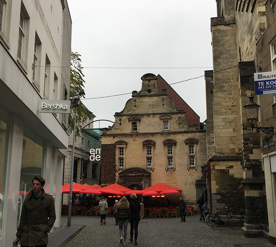 Ploggen 27 Oktober 2016: Dagje Maastricht doorkijkje