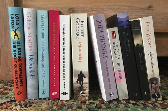 geruilde boeken