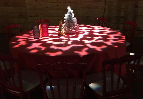 Ploggen 24 November 2016: Margriet Winterfestival lege tafel
