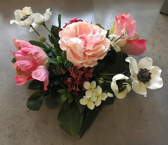 kunstbloemen stukje nummer 1