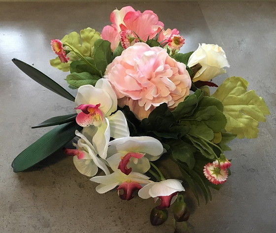 kunstbloemen stukje nummer 2