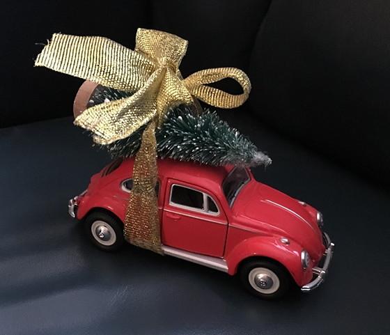 kevertje met kerstboompje kerstdecoratie
