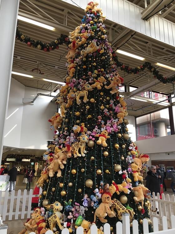 kerstboom hoog catherijne
