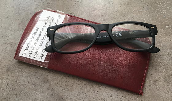 LilleBieb leesbril