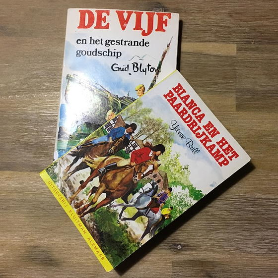 kinderboeken Brill en Blyton