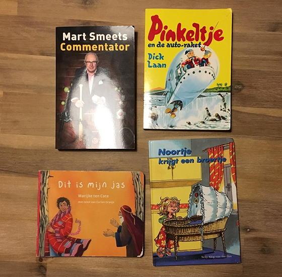 nieuwe boekjes in de minibieb Pinkeltje mart Smeets
