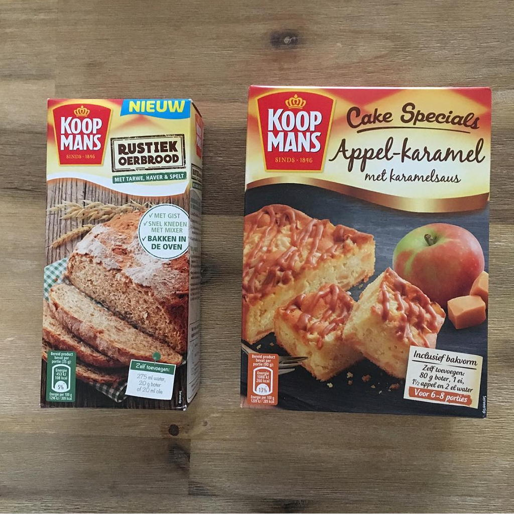 pakken Koopmans rustiek brood en cake specials