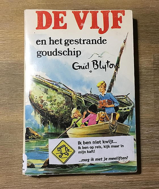 de vijf bookcrossing